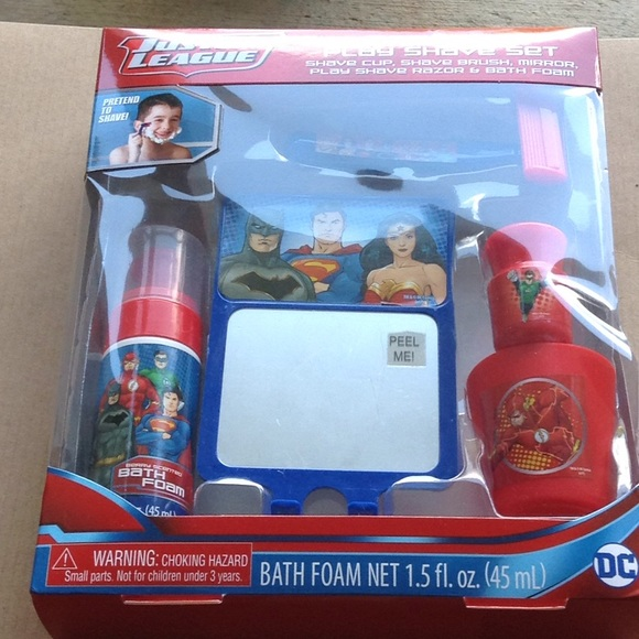Gbg Beauty Llc Other Boys Justice League Bath Time Play Shave Set